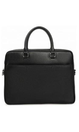 Черная деловая мужская сумка Royal RB-015A-1