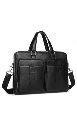 Мужская кожаная сумка для документов городская Royal RB-018A