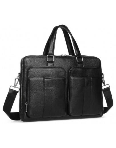Фотография Мужская кожаная сумка для документов городская Royal RB-018A