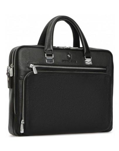 Фотография Мужская деловая кожаная сумка для документов Royal RB-021A