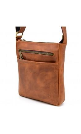 Мужская рыжая кожаная сумка Tarwa RB-1300-3md
