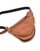 Фотография Мужской винтажный слинг рыже-коричневого цвета Tarwa RB-3026-3md