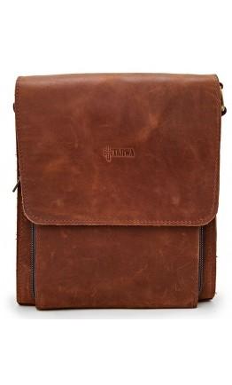 Мужская кожаная удобная сумка на плечо Tarwa RB-3027-4lx