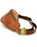 Фотография Коричневая мужская винтажная сумка на пояс Tarwa RB-3035-3md