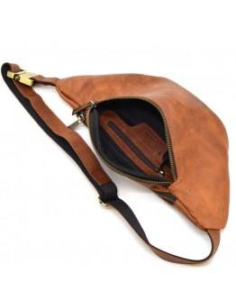Мужская кожаная винтажная поясная сумка Tarwa RB-3036-4lx