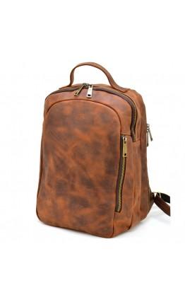 Винтажный оригинальный мужской кожаный рюкзак Tarwa RB-3072-3md