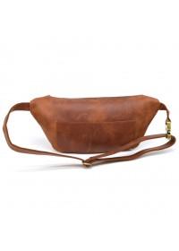 Кожаная винтажная мужская сумка на пояс Tarwa RB-3100-3md