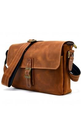 Винтажная мужская коричневая сумка на плечо Tarwa RB-7084-3md