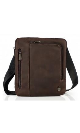 Винтажная коричневая мужская сумка на плечо Royal Bag RB-V-JMD4-0030C