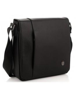Черная кожаная сумка с клапаном Royal RB2970011