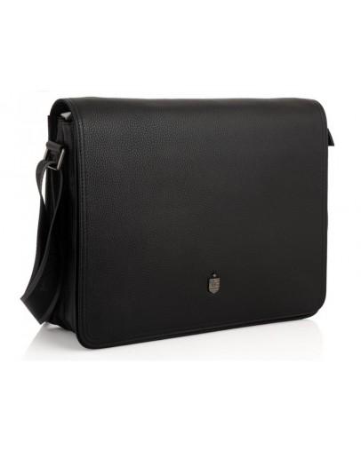 Фотография Кожаная большая мужская сумка на плечо Royal RB2970121