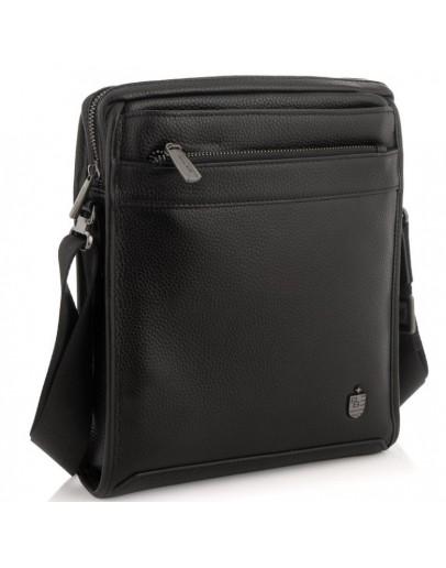 Фотография Черная мужская сумка через плечо Royal RB297891