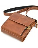 Фотография Кожаная сумка мужская на плечо Tarwa RB-3027-3md