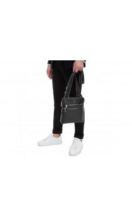 Планшетка кожаная мужская сумка через плечо Royal RB70141