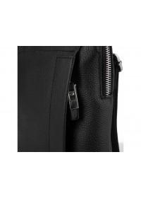 Кожаная мужская черная сумка планшетка Royal RB70151