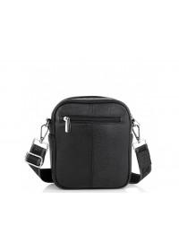 Черная небольшая кожаная сумка на плечо Royal RB70208