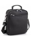 Фотография Черная деловая мужская сумка кожаная Royal RB70209