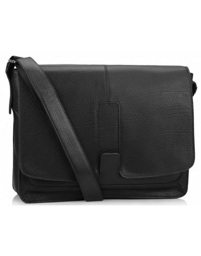 Фотография Черная мужская сумка на плечо формата А4 Royal RB8-1002A