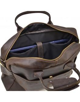 Коричневая мужская сумка для ноутбука Tarwa RC-1019-4lx
