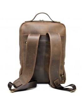 Мужской кожаный вместительный винтажный рюкзак Tarwa RC-1240-4lx