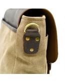 Фотография Мужская сумка из ткани и натуральной кожи Tarwa RC-3960-4lx