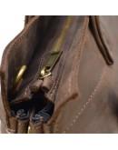 Фотография Коричневая деловая мужская кожаная сумка Tarwa RC-7107-1md