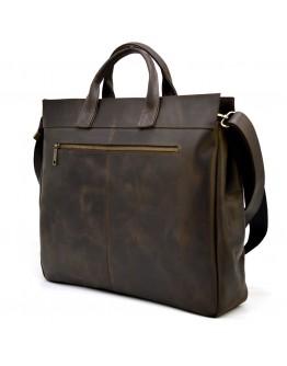 Большая мужская коричневая сумка для 17 ноутбука Tarwa RC-7107-extra