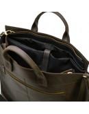 Фотография Большая мужская коричневая сумка для 17 ноутбука Tarwa RC-7107-extra