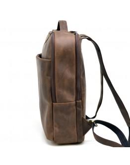 Коричневый кожаный винтажный рюкзак Tarwa RC-7280-3md
