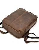 Фотография Коричневый кожаный винтажный рюкзак Tarwa RC-7280-3md