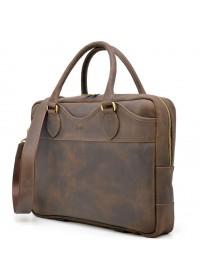 Мужская деловая кожаная сумка мужская Tarwa RC-8839-4lx