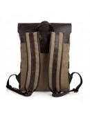 Фотография Рюкзак из прочной ткани и натуральной кожи Tarwa RCs-9001-4lx