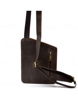 Коричневый мужской винтажный слинг - кобура Tarwa RCv-232-3md