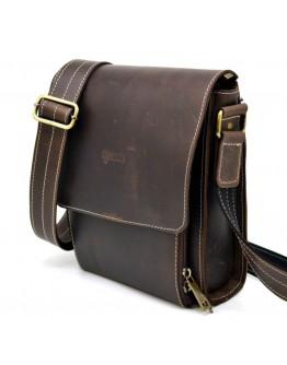 Кожаная сумка мужская, коричневый цвет Tarwa RCw-3027-3md