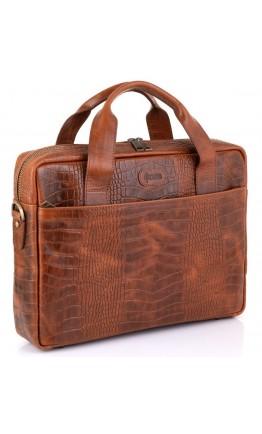 Кожаная сумка для документов с тиснением Tarwa REP-1813-4lx