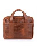 Фотография Кожаная сумка для документов с тиснением Tarwa REP-1813-4lx