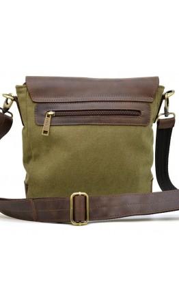 Хаки-коричневая мужская городская сумка Tarwa RH-1309-4lx