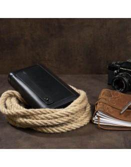 Черный клатч на 2 отделения Vintage 14657