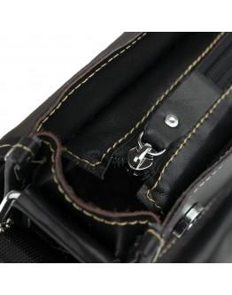 Черная повседневная вместительная сумка на плечо Fr1401