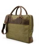 Фотография Мужская тканево-кожаная сумка для документов Tarwa RH-8839-4lx