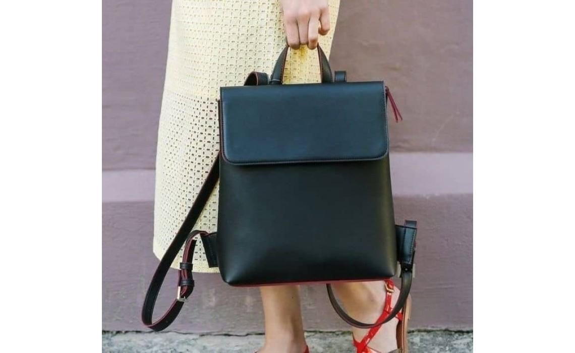Женский рюкзак из натуральной кожи