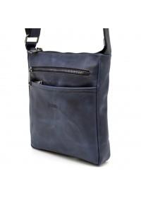 Мужская сумка на плечо синяя Tarwa RK-1300-3md