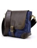 Фотография Сине-коричневая мужская городская сумка Tarwa RK-1309-4lx