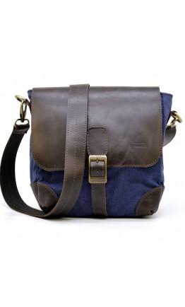 Сине-коричневая мужская городская сумка Tarwa RK-1309-4lx