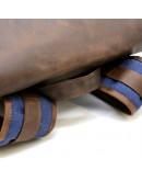 Фотография Мужской рюкзак из ткани и натуральной кожи Tarwa RК-3880-3md