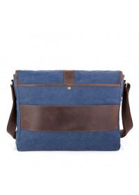 Большая удобная горизонтальная сумка на плечо Tarwa RK-8880-4lx