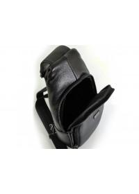 Слинг черный кожаный мужской Ricardo Pruno RP-F-A25F-5058A