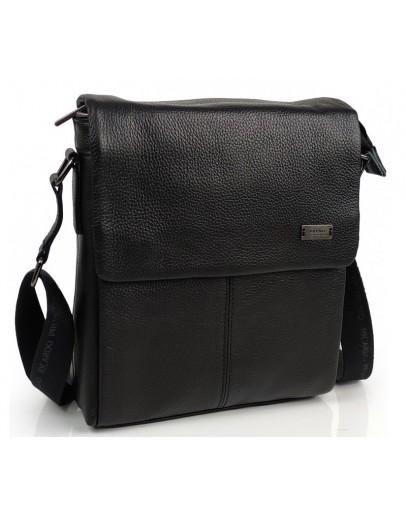 Фотография Кожаная черная сумка на плечо Ricardo Pruno RP-F-A25F-8871A