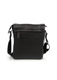 Кожаная черная сумка на плечо Ricardo Pruno RP-F-A25F-8871A