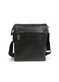 Черная кожаная плечевая сумка Ricardo Pruno RP-F-A25F-8873A